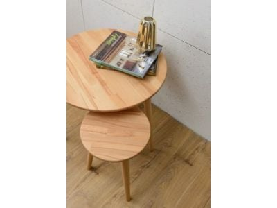 Taboret NATURAL 30
