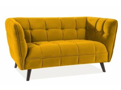 Sofa CASTELLO VELVET 2 curry