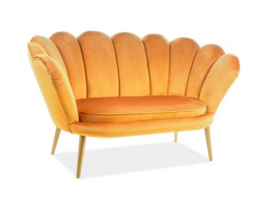 Sofa MAGNOLIA 2 VELVET curry