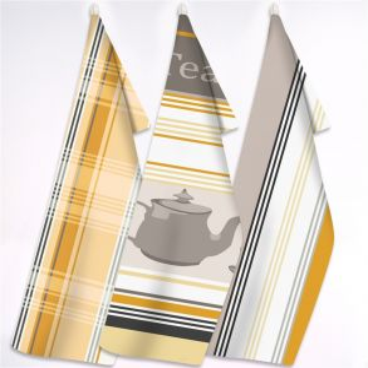 Zestaw 3 Ściereczek Kuchennych Exclusive III Tea Time