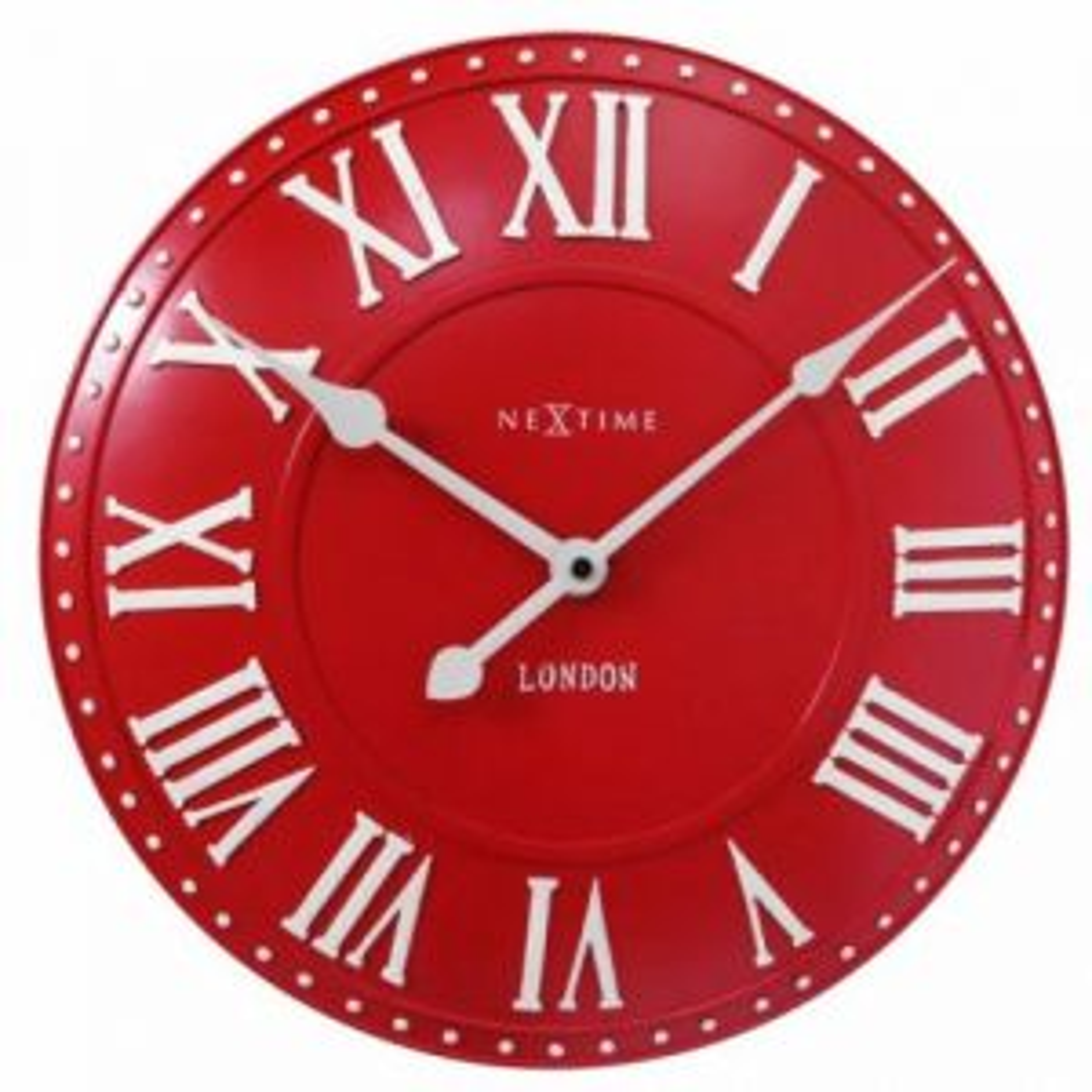 Zegar ścienny London Roman 30863 RO czerwony