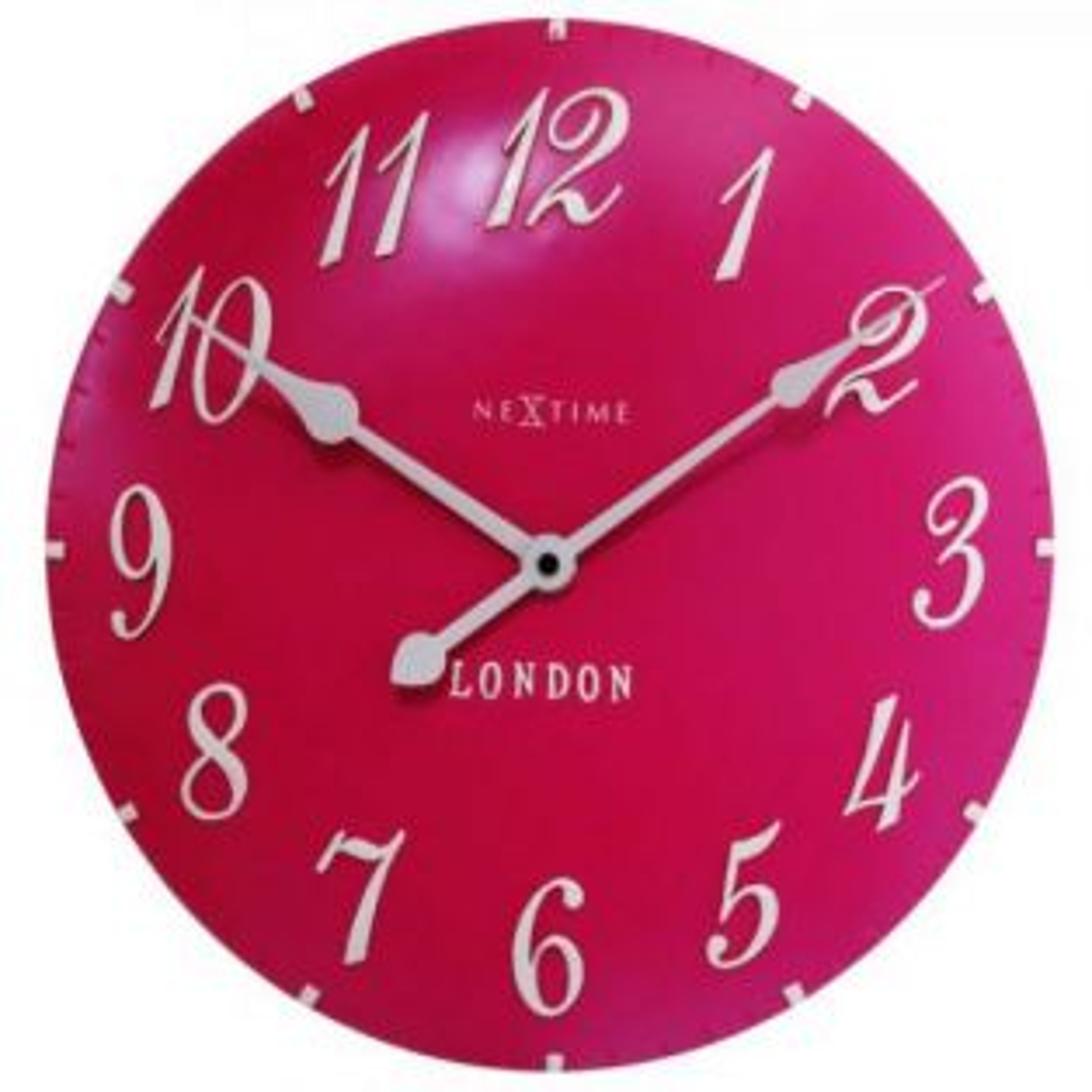 Zegar ścienny London Arabic różowy 3084 RZ
