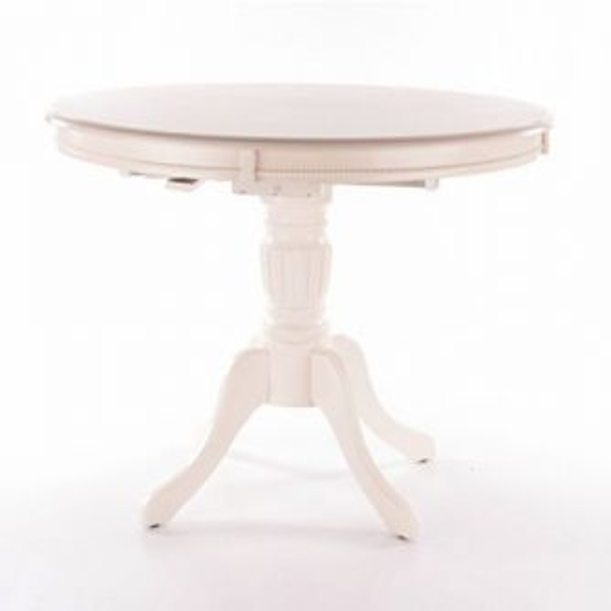 Stół OLIVIA BIANCO 106(141)x106 ecru rozkładany