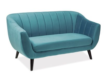 Sofa ELITE 2 VELVET turkusowa