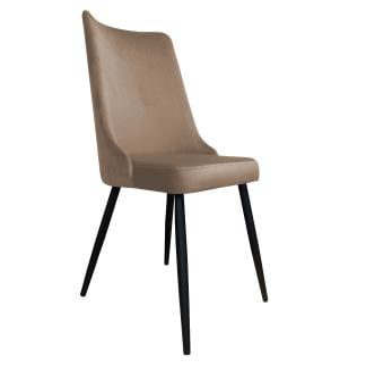 Krzesło CYPRIAN VELVET beżowe