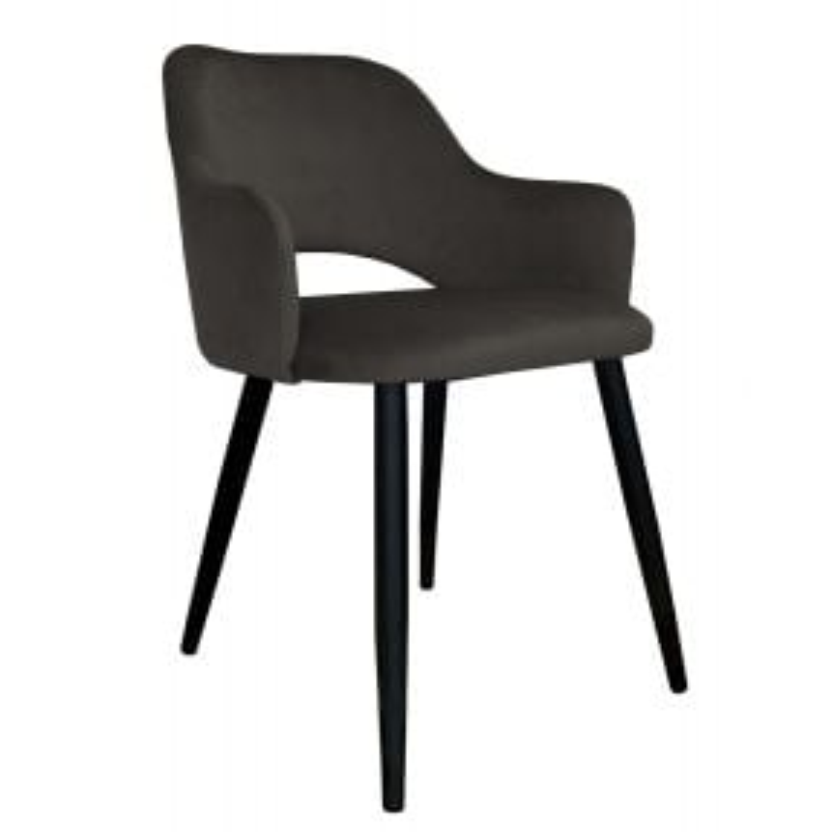 Krzesło NAPO VELVET brązowe