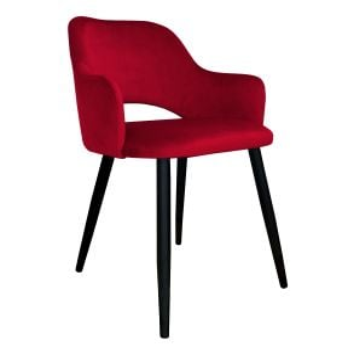 Krzesło NAPO VELVET bordowe