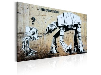 Obraz - I Am Your Father by Banksy