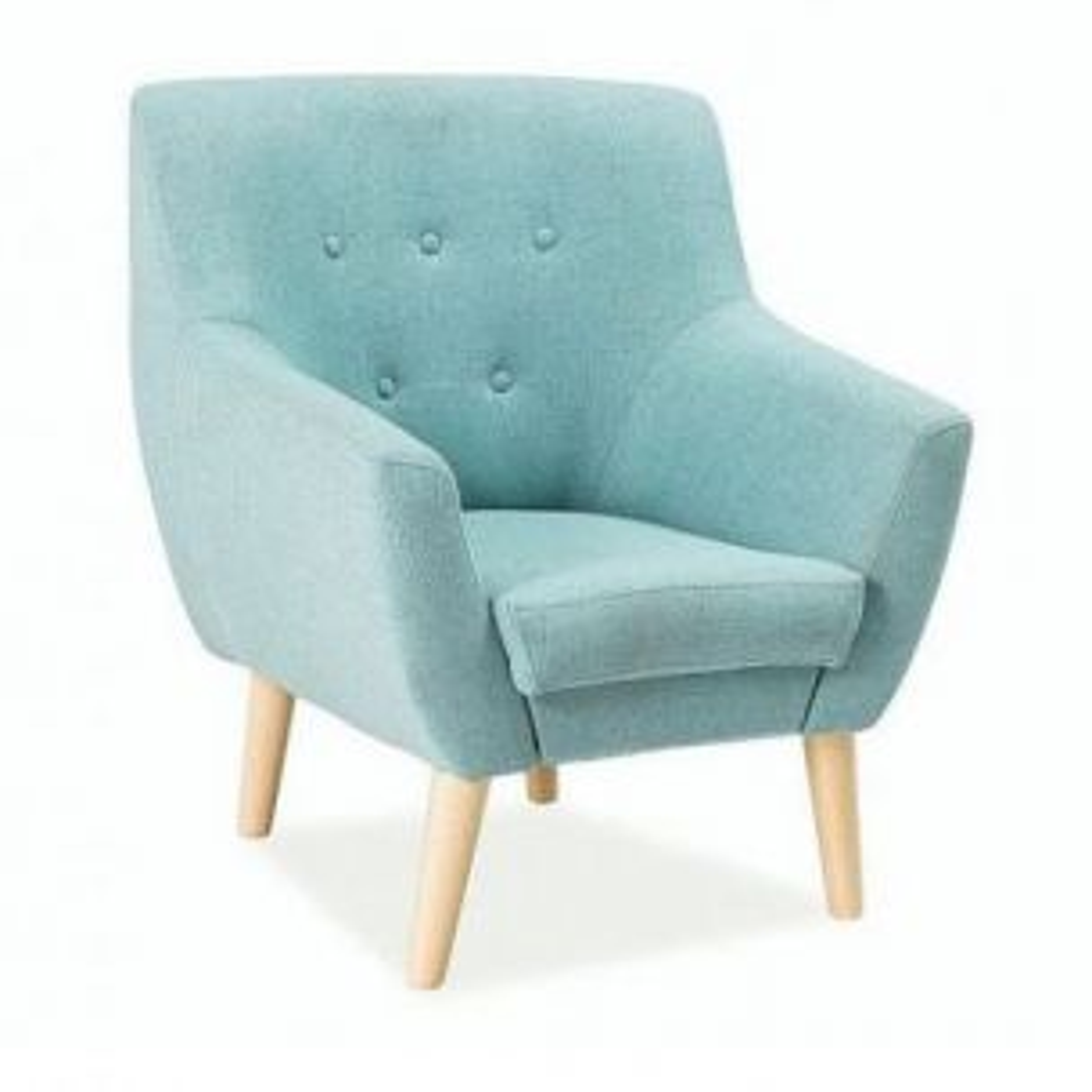 Fotel NORDIC 1 miętowy
