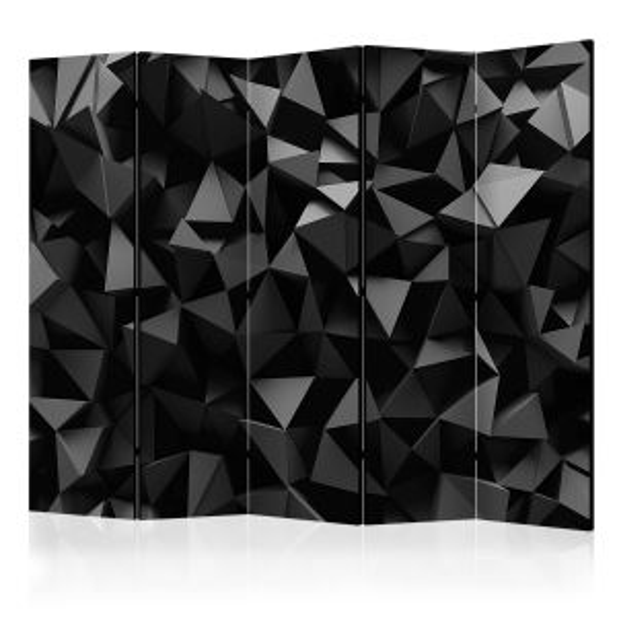 Parawan 5-częściowy - Głębia geometrii II [Room Dividers]