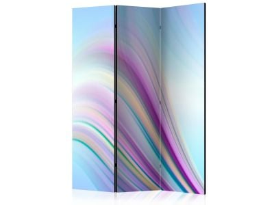 [ Parawan 3-częściowy - Rainbow abstract background Room Dividers]