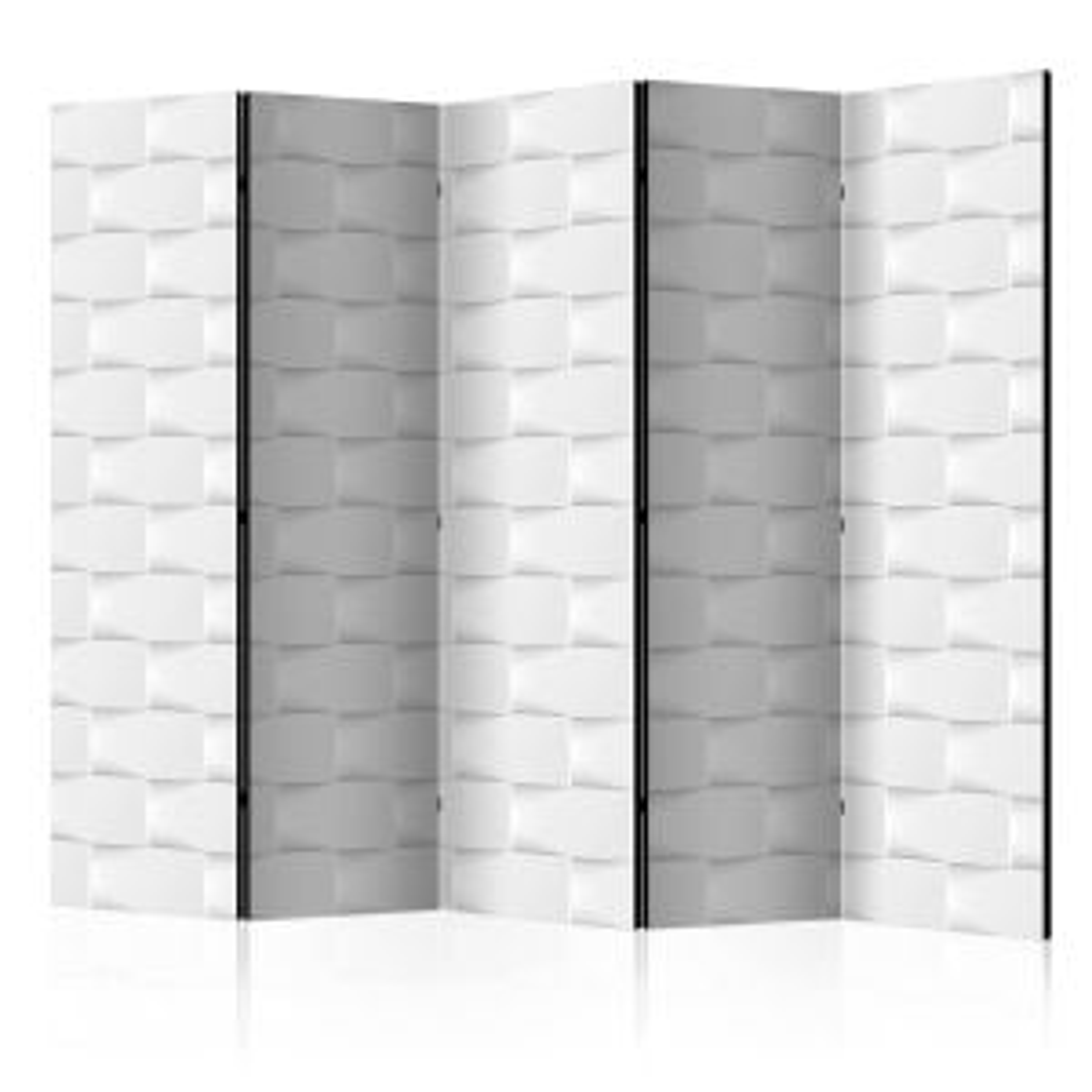 Parawan 5-częściowy - Abstrakcyjny parawan II [Room Dividers]