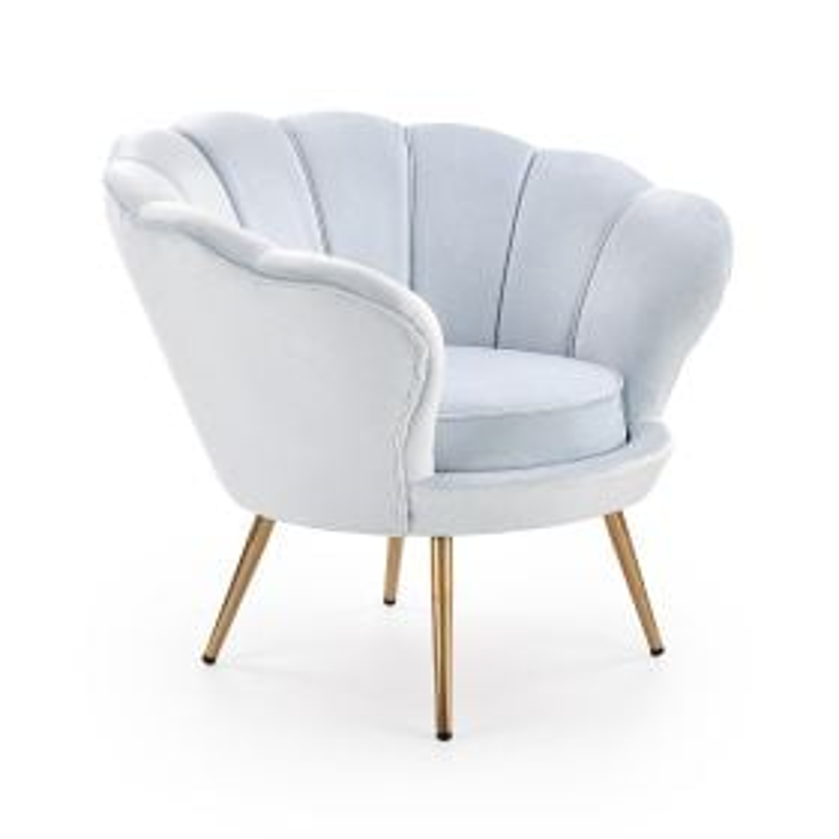 Fotel AMORINO niebieski