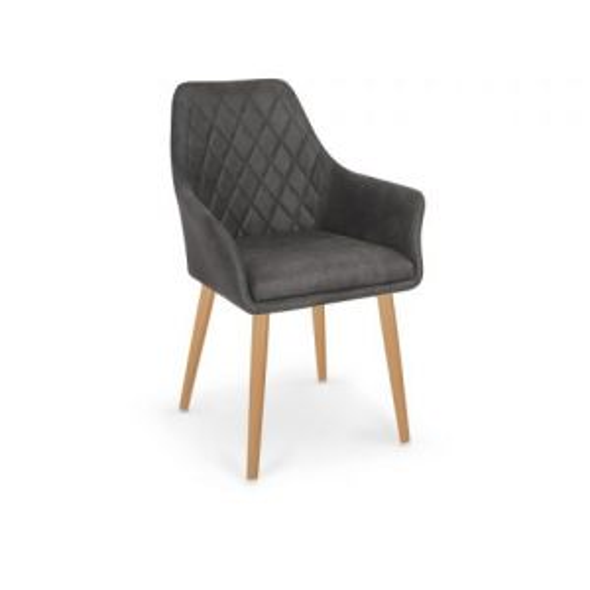 Krzesło K287 ciemny brąz