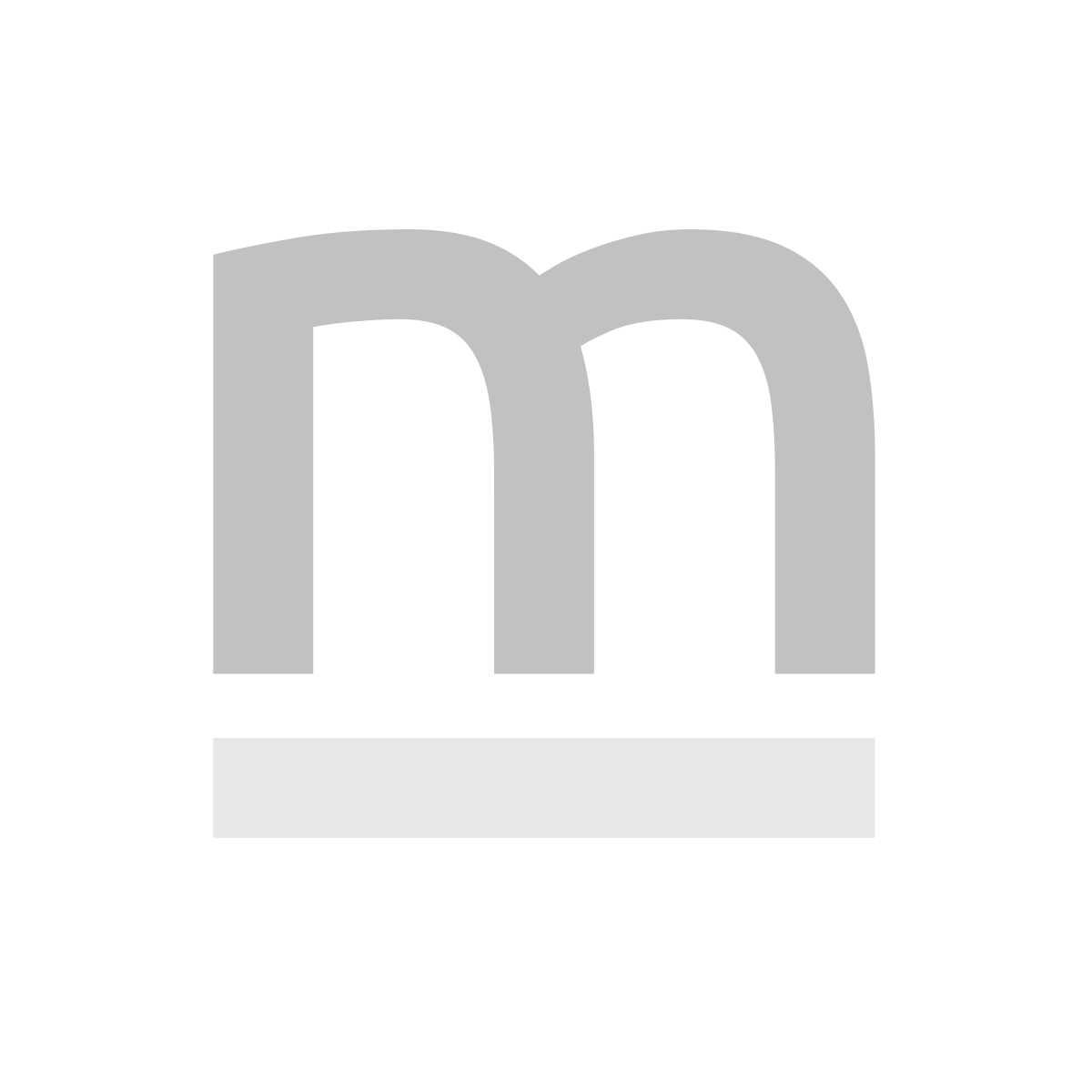 Stół IRON OAK okrągły 88x88 dąb/czarny