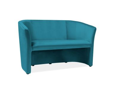 Sofa TM-2 VELVET turkusowa