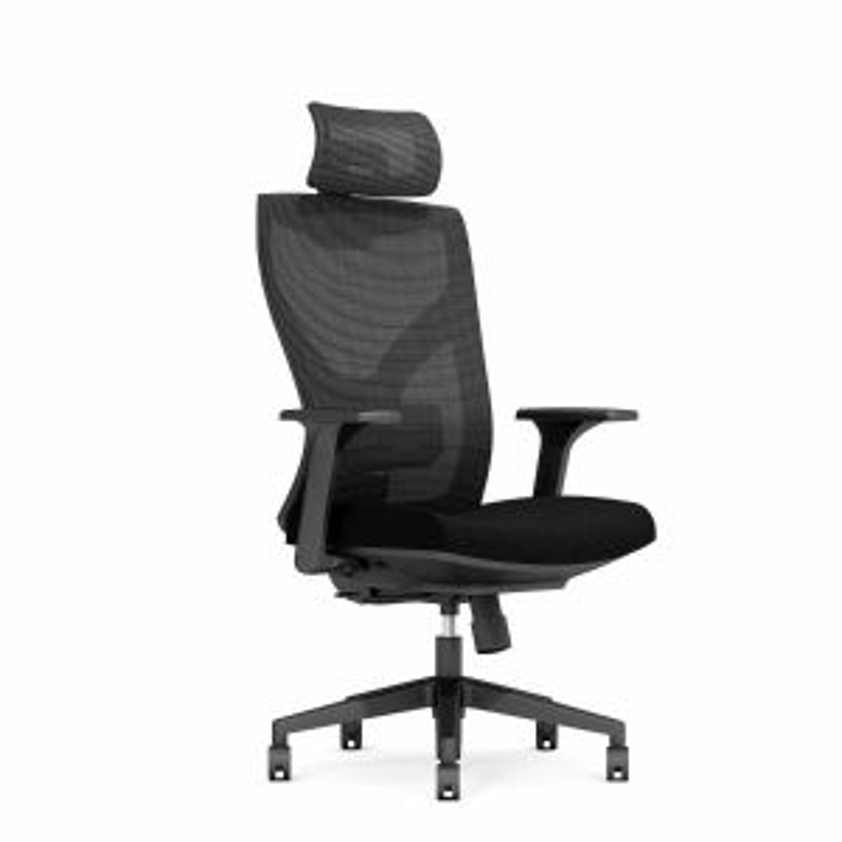 Fotel biurowy ERGONIX czarny