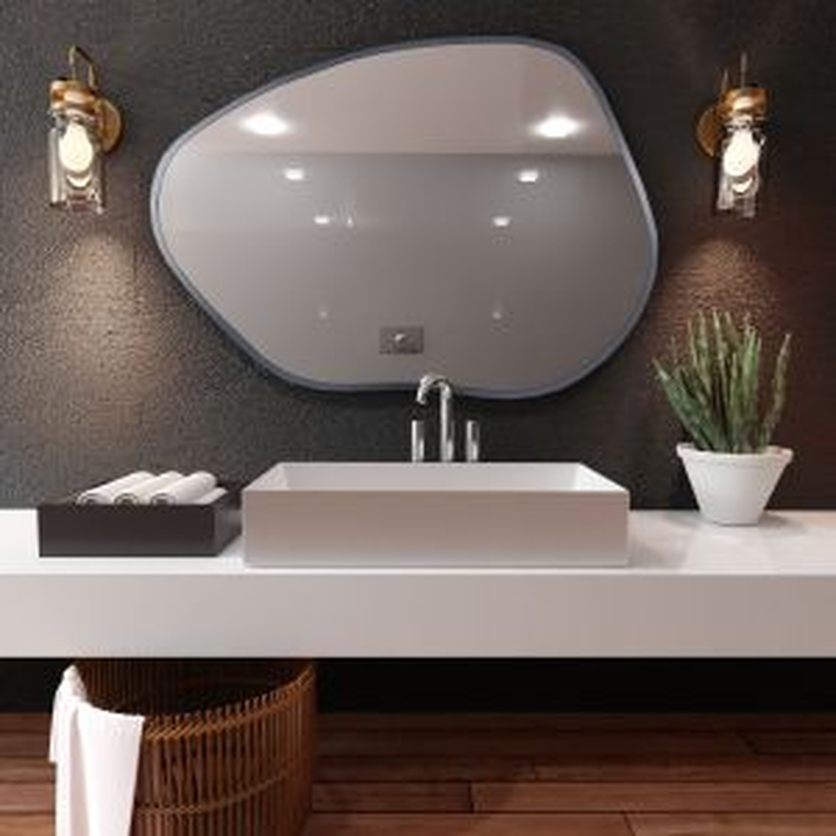 Lustro łazienkowe RUBINO CLOUD I 70