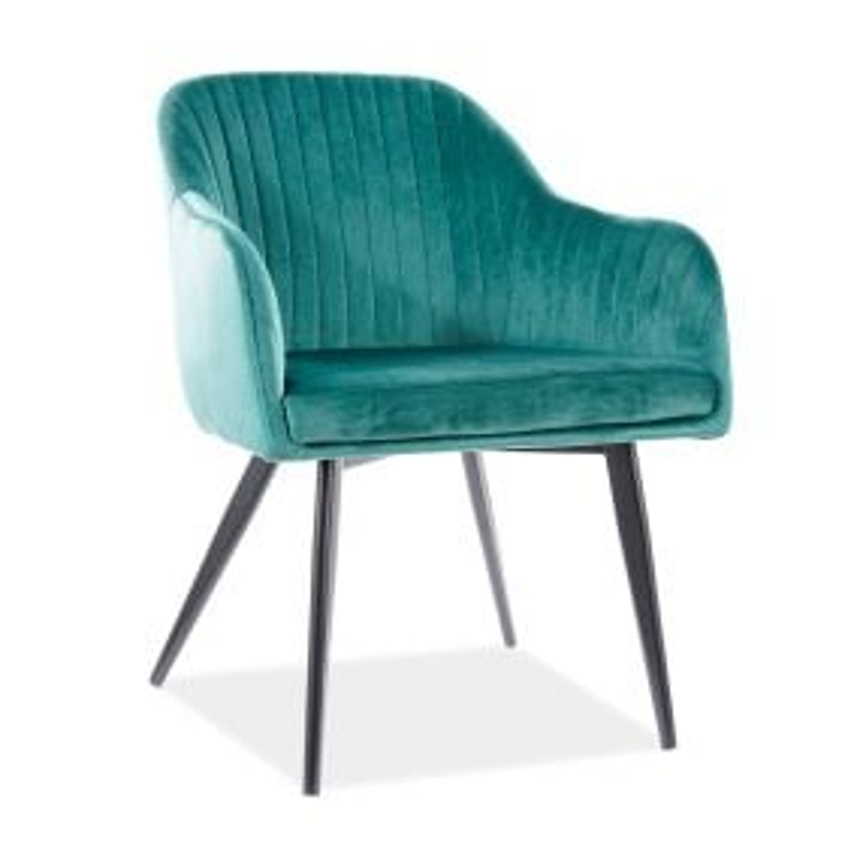 Krzesło ELINA VELVET zielone